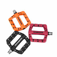 ROCKBROS Cycling MTB Wide Pedals Sealed Bearing Nylon Bicycle Pedals 3 Colour