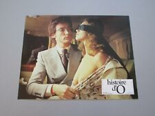 "CORINNE CLERY UDO KIER ""HISTOIRE D'O"" JUST JAECKIN LOBBY CARD LB3"