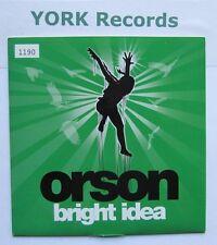 "ORSON - Bright Idea **NUMBERED** - Excellent Condition 7"" Single Mercury 9857277"