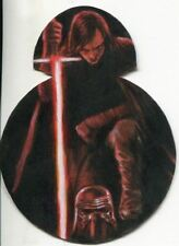 Star Wars The Last Jedi Die Cut Sketch Card By Huy Truong