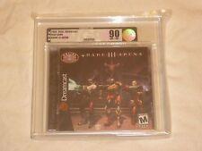 NEW Quake III Arena Sega Dreamcast VGA 90 NM+/MT GOLD Graded Game quack 3 NTSC
