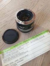 Canon extender FD 2x-B Con Cabinas Y Estuche Original