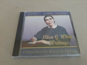 ELLEN G. WHITE WRITINGS Comprehensive Research Edition 2008 CD-ROM New Sealed