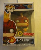 Funko Pop! Captain Marvel #433 GITD Target Exclusive