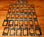 Lot of 37 Blackberry Curve & Blackberry Pearl Middle Frames Scrap or Recovery