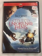 Lemony Snickets A Series of Unfortunate Events (DVD, 2005, Widescreen Collection