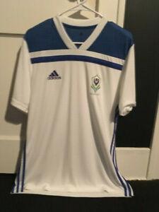 Gabon Adidas Football Soccer Jersey L NWOT