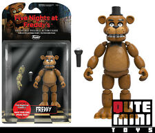 "FUNKO COLLECTIBLE FIVE NIGHTS AT FREDDY'S FREDDY 5"" ACTION FIGURE 8846 IN STOCK"