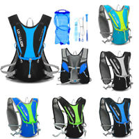 Outdoor Running Cycling Vest Backpack Sports Camping Hydration Water Bladder Bag