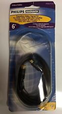 New listing Philips Magnavox Pm61135 S Video Cable - 6 ft