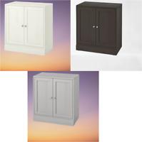 *New* HAVSTA Cabinet with plinth, 81x47x89 cm, White, Dark Brown & Grey *IKEA*