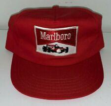 Vintage Unused, MARLBORO / INDY RACING CAR, Trucker Baseball Cap (Circa 1980's)