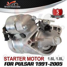Brand New Starter Motor to fit Nissan Pulsar N14 N15 N16 1.6L 1.8L Petrol