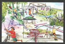 SINGAPORE 2019 NATIONAL DAY PARKS SOUVENIR SHEET OF 1 STAMP IN MINT MNH UNUSED