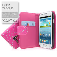 Samsung Galaxy S3 Mini i8190 Alta Calidad Tapa Funda de Móvil Pink Rosa Brillo