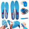 Work Boots Gel Insoles Shoe Inserts Orthodontic Arch Support Pads Massaging Feet