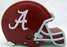 Alabama Crimson Tide Helmet Coin Bank Elephant Roll Bama SEC Plastic Football