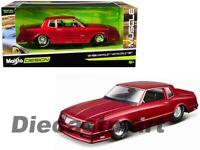 Maisto Design 1:24 1986 Chevrolet Monte Carlo SS Red 32530RD Diecast Model Car