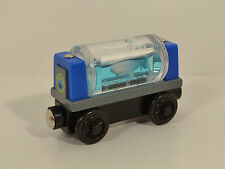 "3.25"" Sodor Aquarium Shark Tanker Wood Magnetic Train Car Thomas The Tank Engine"