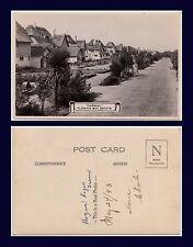 UK SUSSEX BOGNOR REGIS ALDWICK BAY ESTATE FAIRWAY REAL PHOTO DATED 1943