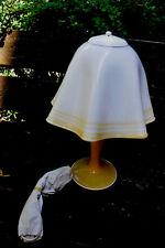 1 stück 70er Stehlampe Tischleuchte Schmöker Leuchten Norderstedt NOS Lamp glas