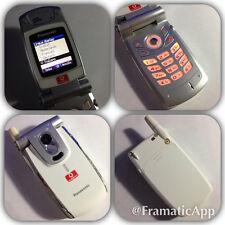 CELLULARE PANASONIC X400 GSM BIANCO PIEGHEVOLE APERTURA A SCATTO