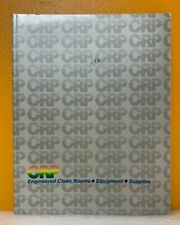 Crp Clean Room Products, Inc Engineered Clean Rooms, Equipment, Supplies Catalog