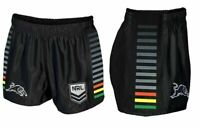 Penrith Panthers NRL 2021 Home Supporters Shorts Adults Sizes S-5XL! NEW LOGO