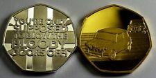 2x MINI COOPER 'ITALIAN JOB' Collectors Album/Token/Medals. Silver & 24ct Gold