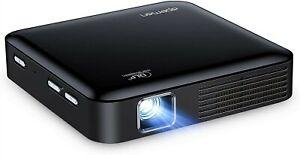 DLP Mini Beamer, APEMAN Handy Kurzdistanz Projektor from AmazonASIN: B08JM8LSKP
