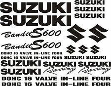 Suzuki Bandit S600 600S 600 #1 decals motorbike motorcycle stickers FREE UK P&P
