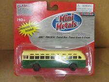 HO GMC TDH-3610 Green & Cream Transit Bus - Classic Metal Works #32309