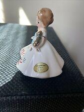 Vintage Josef Originals Japan December Birthday Girl of the Month Figurine
