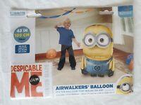 "Despicable Me Minion AirWalker Foil Balloon 28"" x 43"" minions Kids Party"