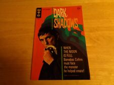 Dark Shadows #5 Gold Key Comic Book Barnabus Collins 1970 Condition VF 8.0