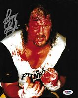 Terry Funk Signed WWE 8x10 Photo PSA/DNA COA NWA ECW Wrestling Picture Autograph