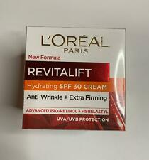 L'Oreal Revitalift Hydrating SPF30 Cream Anti-Wrinkle+Extra Firming New & Sealed