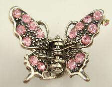 butterfly claw Crystal alloy Rhinestone Hair Clip Jaw Hairpin Fashion hot 6jvj