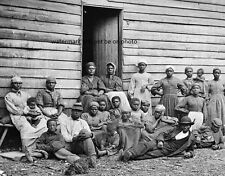 "Escaped Slaves Cumberland Landing, Virginia 8""x 10"" Civil War Photo Picture #14"
