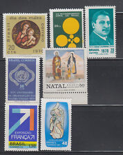 Brazil  1970-1971 all Mint Never Hinged except Fr Exh