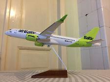 1:100 new livery airbus a220-300 Air Baltic modelo lo avión Aircraft