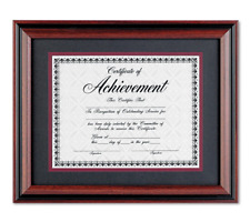 """New 11"""" x 14"""" Wood Photo Certificate Wall Frame Picture Family Document Diploma"""