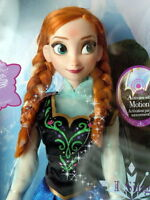 """Disney Frozen Exclusive 16"""" Singing Anna Doll – BEAUTIFUL! New!"""