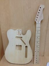 4/4 E-218DIY Telecaster Style Electric Guitar DIY kits,No-Solder,Neck Glued