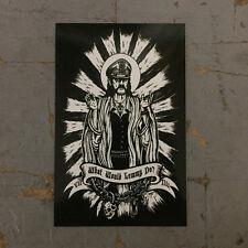 What would Lemmy do Sticker by Seven 13 Productions Motorhead WWLD Punk Metal 13