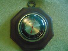 Vintage Verichron Weather Station Hygrometer Glass Bubble Bezels