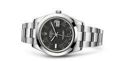 Mechanisch - (automatische) Unisex Armbanduhren mit Datumsanzeige