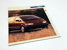 1991 Toyota Previa Brochure