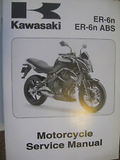 2009 Kawasaki ER-6N : Factory Service/ Repair Manual