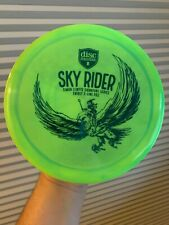 Discmania Sky Rider Simon Lizotte Swirly S-Line Pd2 - Green with Blue Stamp